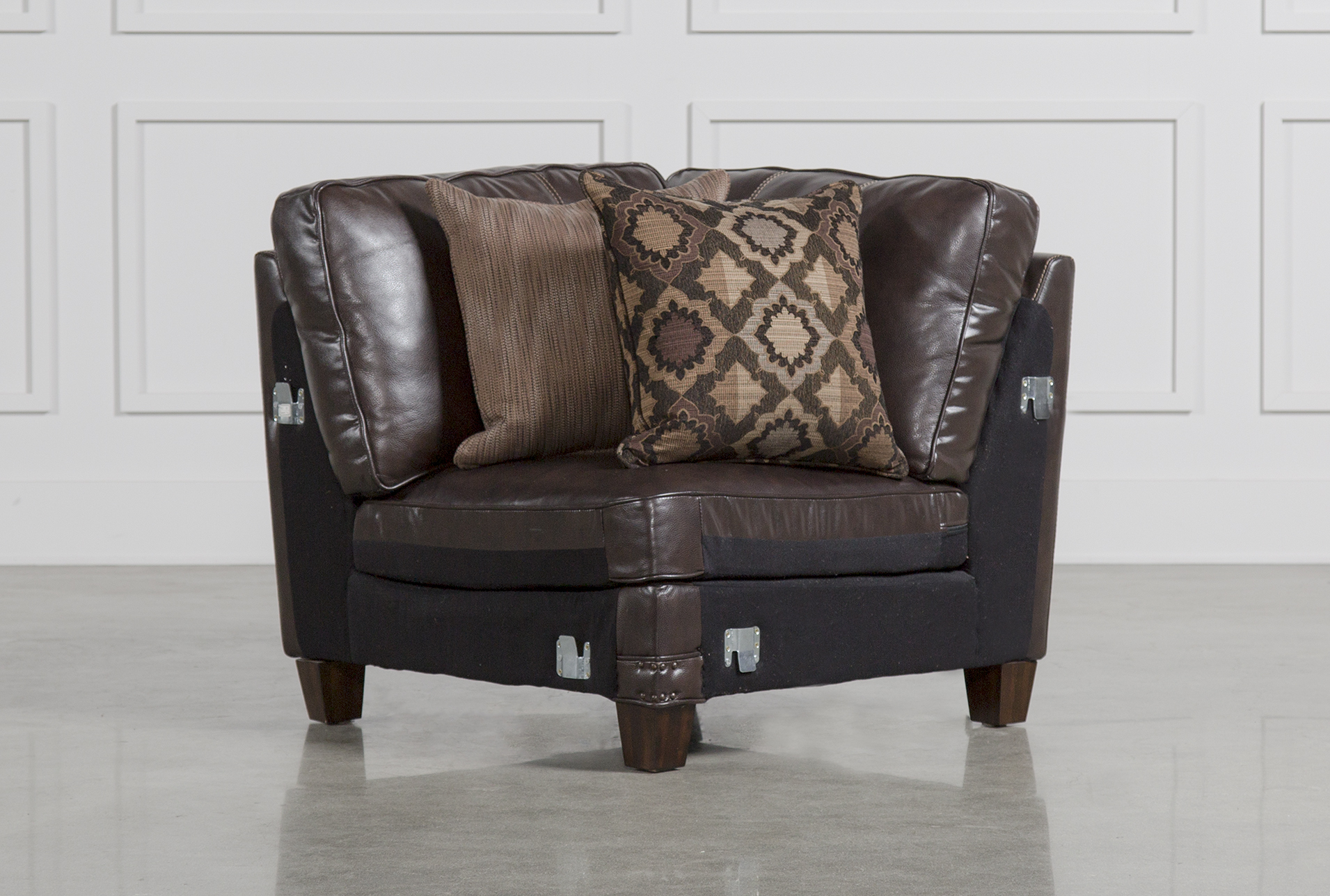 Barnaby Leather Corner Chair (Qty: 1) Has Been Successfully Added To Your  Cart.