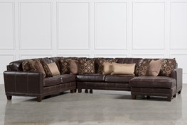Barnaby 4 Piece Sectional W/Raf Chaise