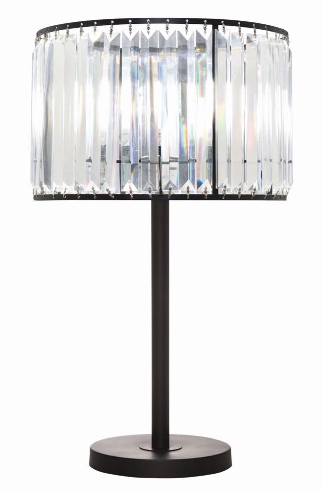 Table Lamp-Wells Crystal - 360