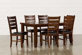Bradford 7 Piece Dining Set W/Bardstown Side Chairs