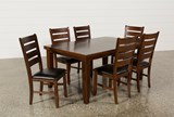 Bradford 7 Piece Dining Set W/Bardstown Side Chairs - Back