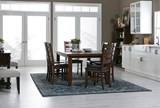 Bradford 7 Piece Dining Set W/Bardstown Side Chairs - Room