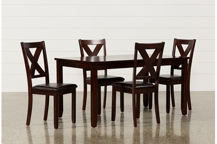 Dakota 5 Piece Dining Table W/Side Chairs - Main