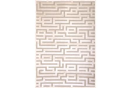 93X128 Rug-Maze Ivory