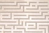 93X128 Rug-Maze Ivory - Default