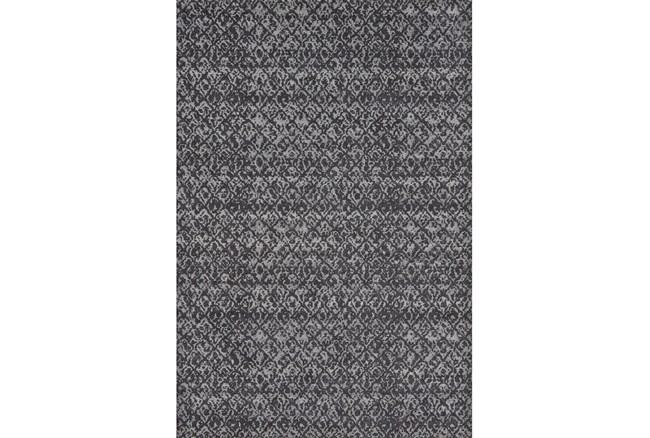 96X132 Rug-Luca Dark Grey - 360