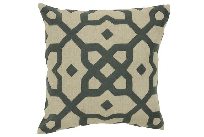 Accent Pillow-Aria Grey 18X18 - 360