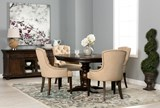 Jefferson Extension Round Dining Table - Room