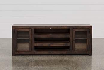Walton 72 Inch TV Stand With Glass Doors