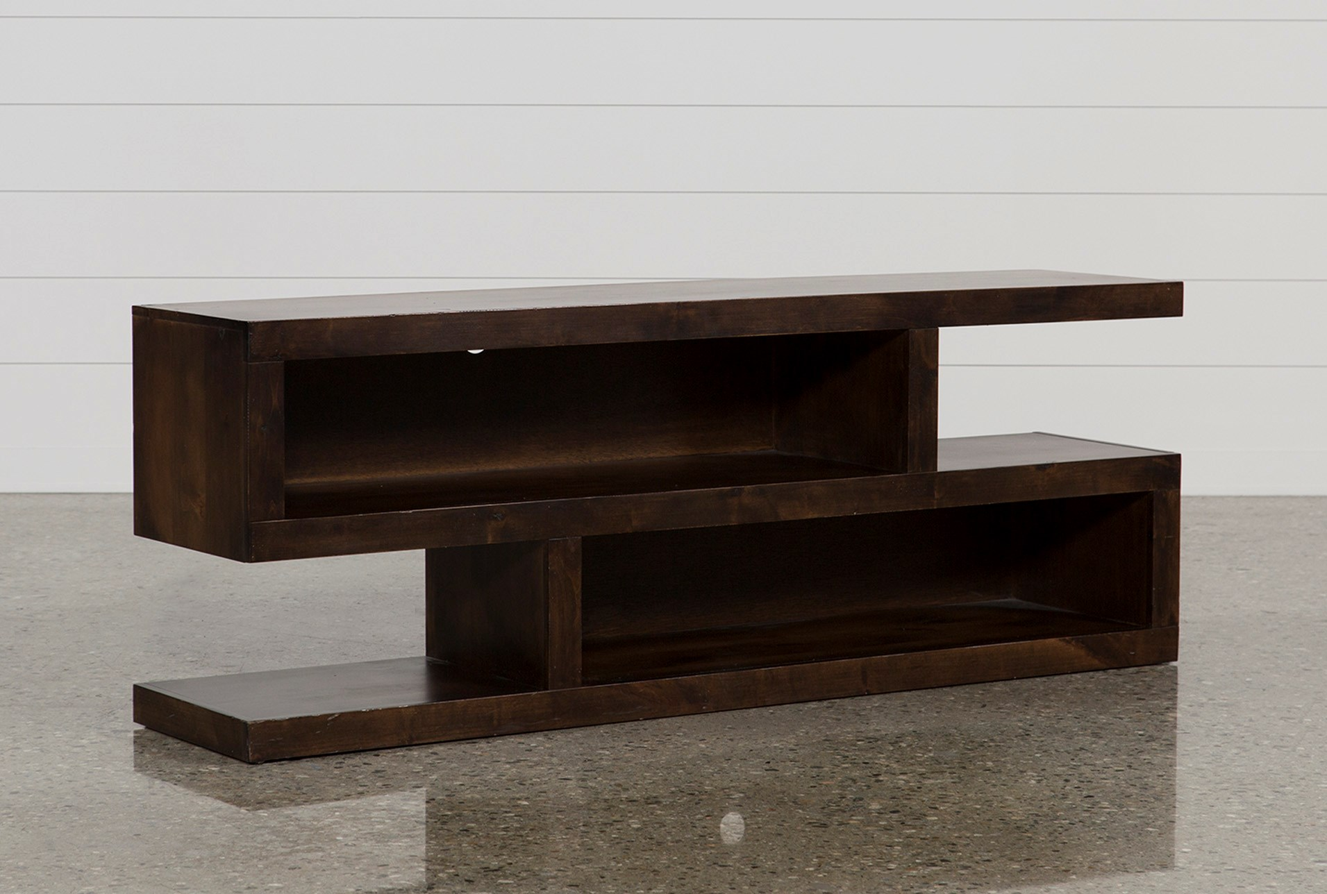 living spaces tv stand. Walton 74 Inch Open TV Stand - 360 Living Spaces Tv
