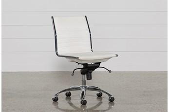 Fraser White Office Chair