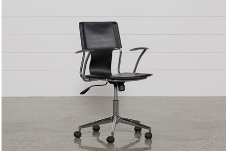 Miley Black Office Chair