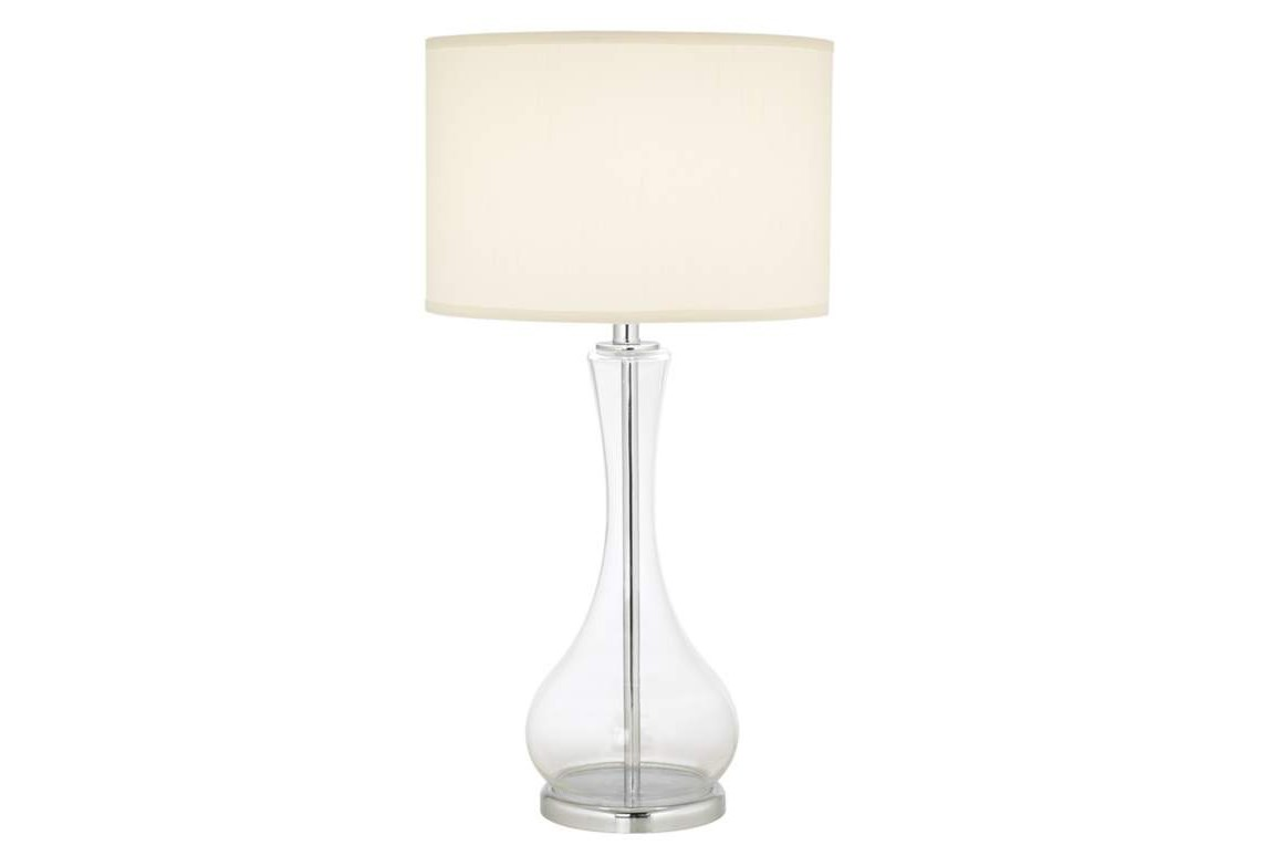 Table Lamp Crystal Clear Living Spaces