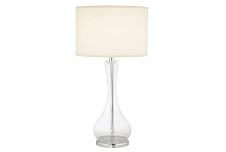 Table Lamp-Crystal Clear