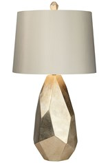 Table Lamp-Faceted Gold - Signature