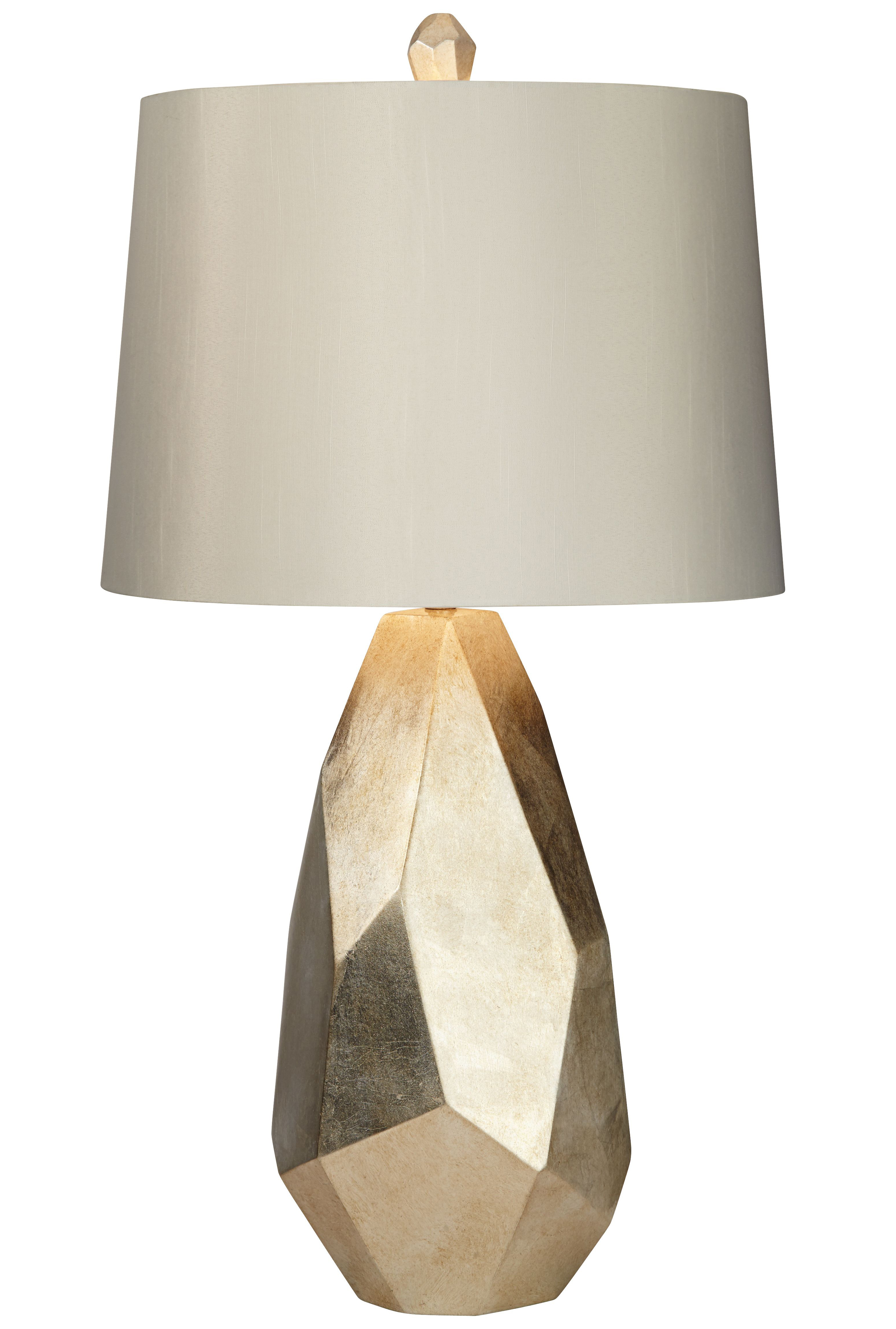 Table Lamp Faceted Gold   360