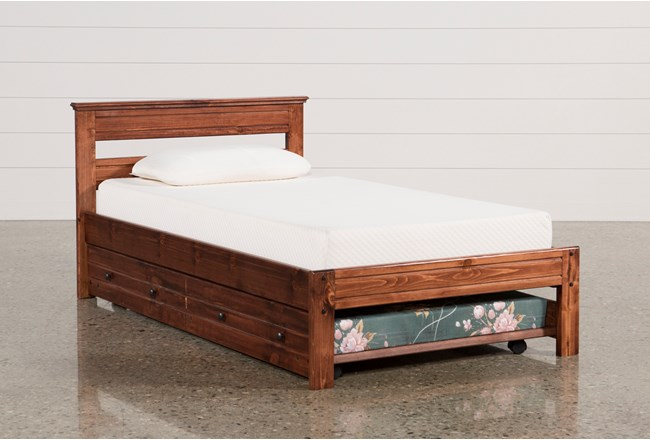 sedona twin platform bed with trundle with mattress 12921 | 83649 4 w 650 h 440 mode pad