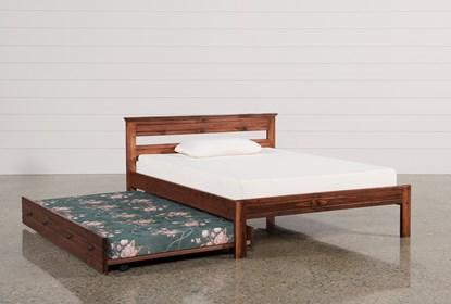 Sedona Full Platform Bed With Trundle