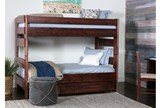 Sedona Twin Over Twin Bunk Bed With Trundle With Mattress - Room