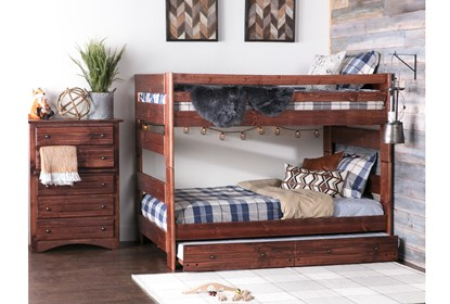 Sedona Full Over Bunk Bed With