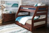Sedona Twin Over Full Bunk Bed With 2- Drawer Storage Unit - Room