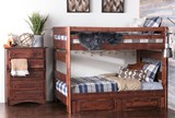 Sedona Full Over Full Bunk Bed With 2- Drawer Storage Unit - Room