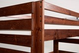 Sedona Full Over Full Bunk Bed With Stair Chest - Top