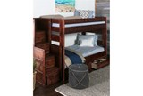 Sedona Twin Over Twin Bunk Bed With 2 Drawer Strg Unit & Stair Chest - Room