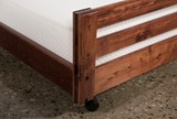 Sedona Twin Caster Bed - Top