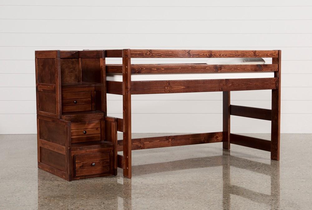 Sedona Junior Loft Bed With Junior Stairway Chest