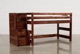 Sedona Junior Loft Bed With Junior Stair Chest - Signature