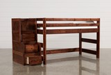 Sedona Junior Loft Bed With Junior Stair Chest - Left