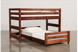 Sedona Junior Loft Bed With Twin Caster Bed