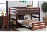 Sedona Junior Loft Bed With Twin Caster Bed - Room