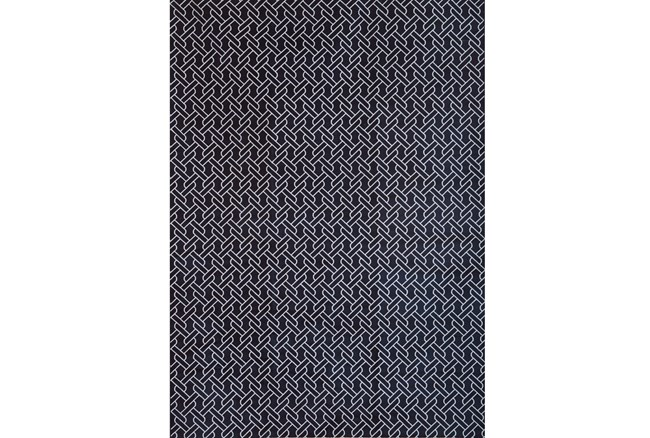 63X90 Rug-Cable Knit Navy - 360