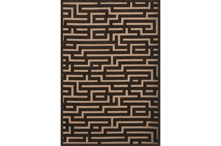 93X128 Rug-Maze Grey - Main
