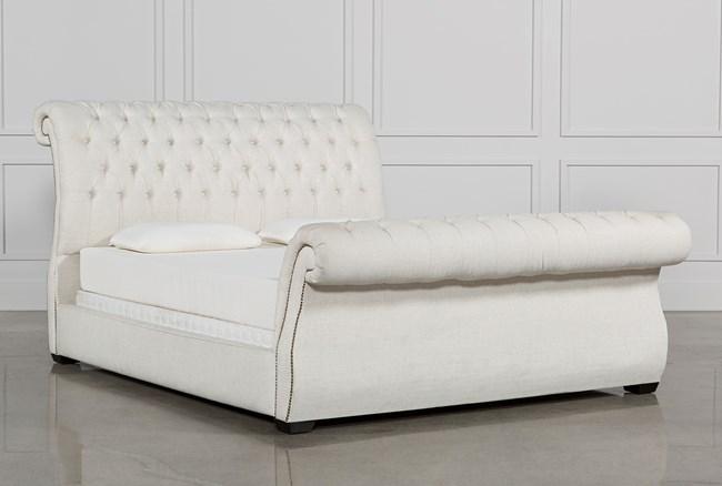 Kensington II Eastern King Upholstered Sleigh Bed - 360