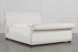 Kensington II California King Upholstered Sleigh Bed