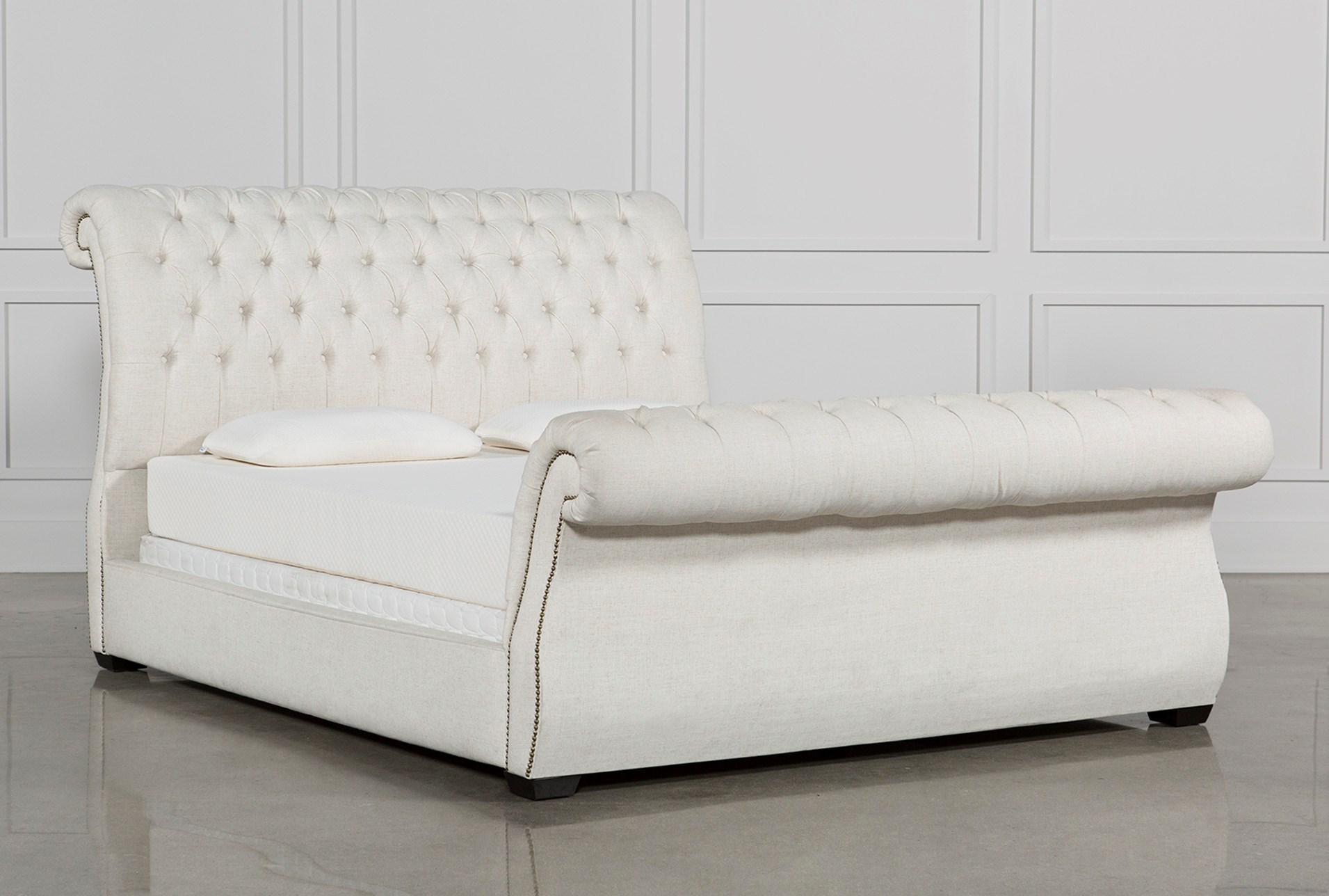 Kensington Ii Queen Upholstered Sleigh Bed Living Spaces ~ Kensington Upholstered Sofa