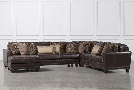 Barnaby 4 Piece Sectional W/Laf Chaise