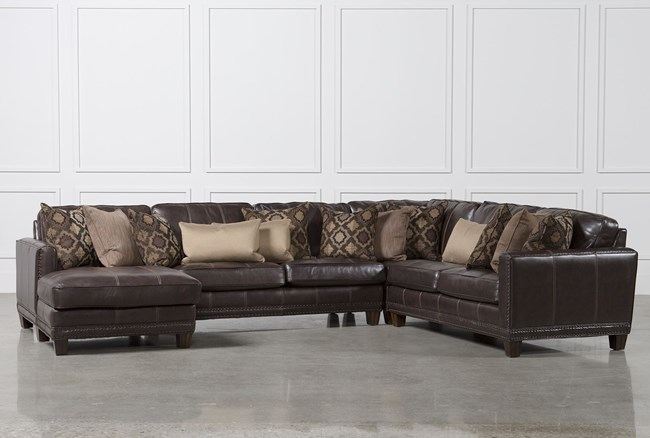 Barnaby 4 Piece Sectional W/Laf Chaise - 360