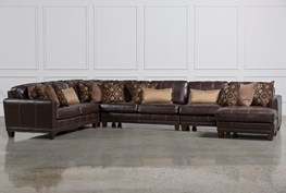 Barnaby 5 Piece Sectional W/Raf Chaise