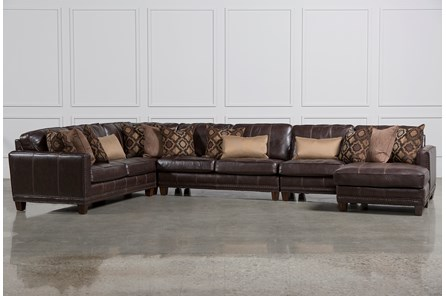 Barnaby 5 Piece Sectional W/Raf Chaise - Main