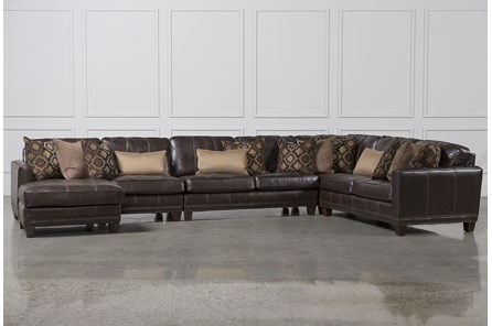 Barnaby 5 Piece Sectional W/Laf Chaise - Main
