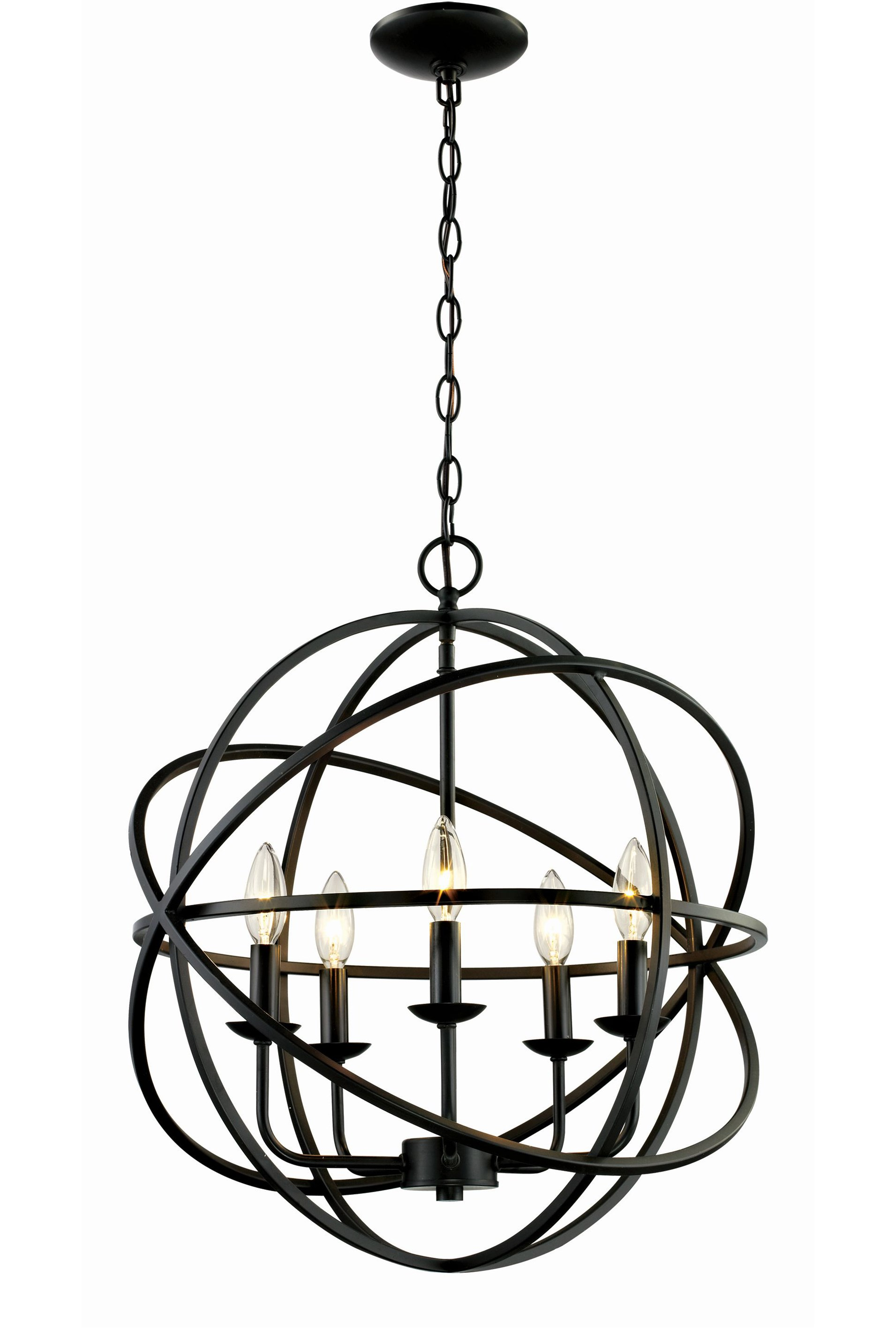 Display Product Reviews For CHANDELIER ROSILYN BRONZE 5 LIGHT