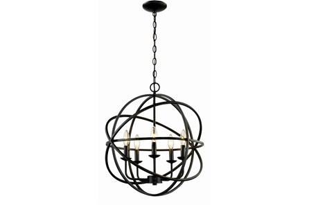 Chandelier-Rosilyn Bronze 5-Light - Main