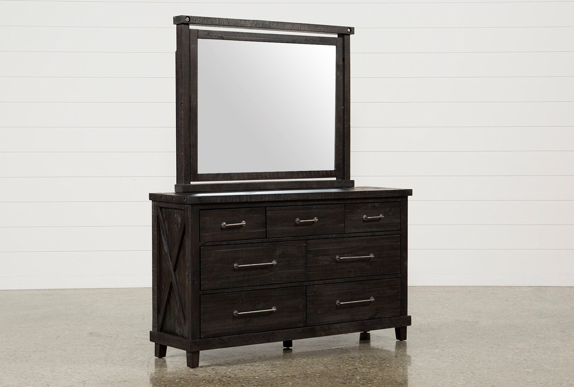 Jaxon Dresser Mirror Living Spaces