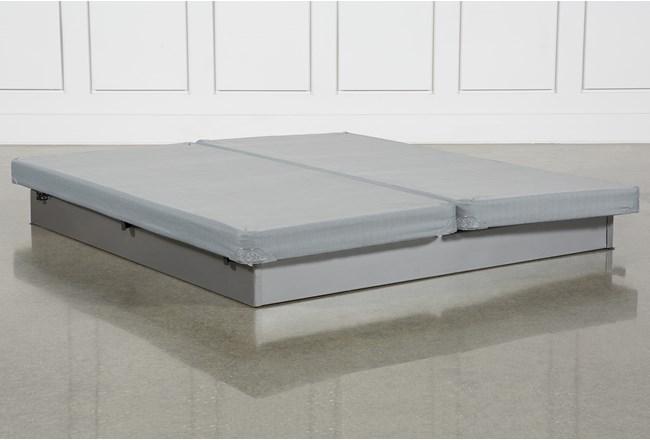 Grey Eastern King Low Profile Foundation Set - 360