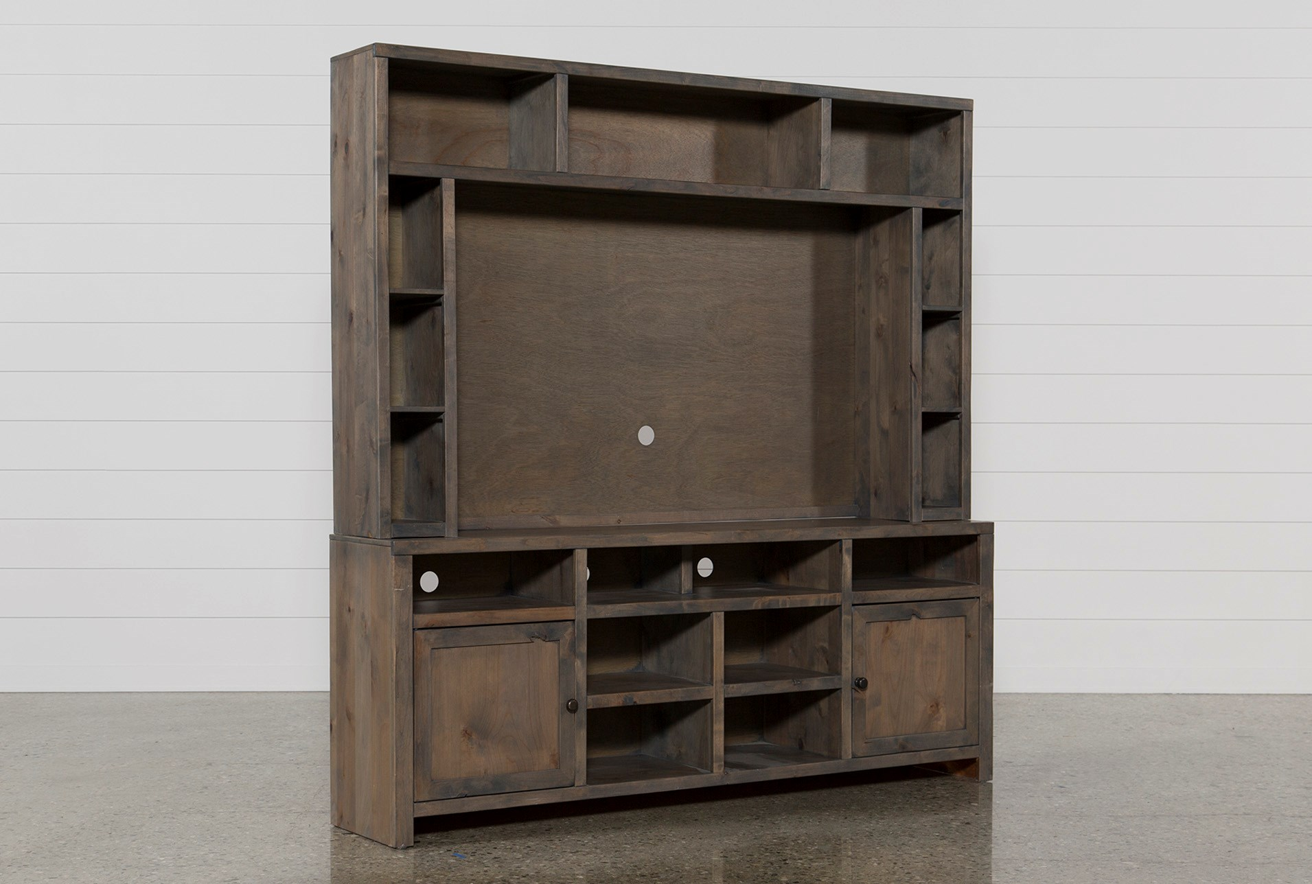Ducar 2 Piece Wall Entertainment Center | Living Spaces