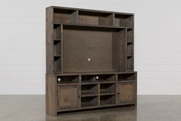 Ducar 2 Piece Wall Entertainment Center